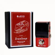 Looper Pedal : JOYO JF-329 IronLoop Looper Guitar Pedal 20 Mins Unlimited Overdub