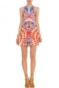 Circle Dress in Cosmic Fountain Coral - one day I will own a Mara Hoffman piece.