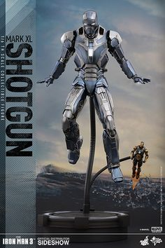 The Iron Man Mark XL Shotgun Sixth Scale Figure by Hot Toys is now available at…