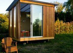 Five Cool Tiny House, Cabin, Shed, Hut, Cabin EYE CANDY Shots. Small Backyard  Sheds