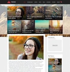 _CTPG_: Template Blogspot - Throne Magazine - Responsive