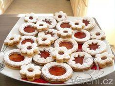 Dobré linecké těsto Slovak Recipes, Czech Recipes, Russian Recipes, Xmas Cookies, No Bake Cookies, Sugar Cookies, Czech Desserts, My Favorite Food, Favorite Recipes