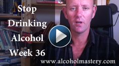 Alcoholic Relapse - Stop Drinking Alcohol Week 36 http://alcoholmastery.com/alcohol-relapse-stop-drinking-alcohol-week-36 This week I talk about quitting alcohol and I give you some tips on how to manage your sleeping during those first few weeks, some of the methods that worked for me. I also take a look at my alcohol journey so far and the posts on the website this week.