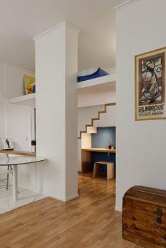 Mezzanine escalier bureau
