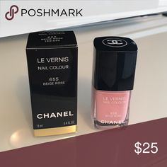 CHANEL Le vernis Beige rose 655 Brand new CHANEL Le vernis Beige rose 655 CHANEL Other