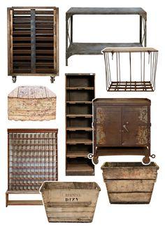Industrial Vintage.