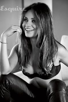 Esquire: Great choice. Mila Kunis is definitely one of the most gorgeous women in Hollywood right now.