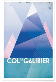 Col du Galibier of Benjamin Andresen now on JUNIQE!