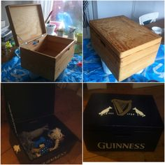 Made a toy-box for my dog Guinness