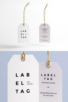I'm pleased to introduce today a new high-quality PSD mock-up perfect for your future branding projects: a paper label tag with a twine string. Label Design, Packaging Design, Branding Design, Design Design, Identity Branding, Custom Design, Corporate Design, Corporate Identity, Hangtag Design