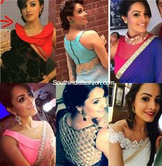 Shagun / Anita Hassanandini Sarees and Blouse Designs in Yei Hai Mohabbatein, YHM Shaguna sarees, Shagun Blouse Designs, online shopping Saree Jacket Designs, Sari Blouse Designs, Designer Blouse Patterns, Choli Designs, Saree Dress, Saree Blouse, Sleeveless Blouse, Blouse Outfit, Peplum