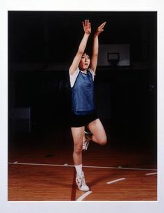 Sharon Lockhart, 'Goshogaoka Girls Basketball Team: Ayako Sano' 1997