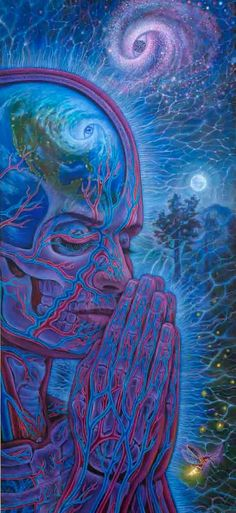 The official website of visionary artist Alex Grey. Alex Grey, Alex Gray Art, Psychedelic Art, Yo Superior, Le Vent Se Leve, Psy Art, Visionary Art, Graphic, Trippy