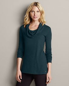 Girl On The Go® Cowl-neck Tunic | Eddie Bauer