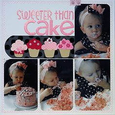 sweeter than cake - Scrapjazz.com