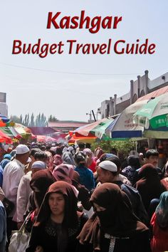 The largest market in Asia takes place every Sunday in Kashgar, an oasis city in the Xinjiang Uyghur Autonomous Region of China and a major stop on the ancient Silk Road - more in the budget travel guide for the city