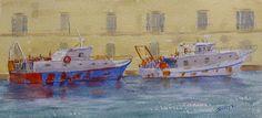 Fishing boats Ortygia