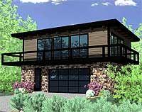 Petite Contemporary Home Plan