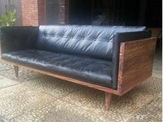 Sofá tapizado 2 plazas de cuero MLONGGO - Jatra Design
