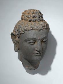 Kop van de Boeddha, anoniem, 300 - 399