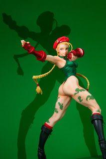 KOTOBUKIYA BISHOUJO Street Fighter Cammy ‐ Alpha costume figure//statue échelle 1//7