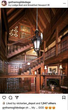 Victorian Interiors, Victorian Decor, Victorian Architecture, Victorian Gothic, Victorian Homes, Interior Architecture, Interior And Exterior, Mansion Interior, Classical Architecture