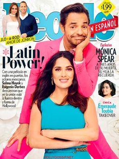 Salma Hayek and Eugenio Derbez cover People en Espanol Magazine [Mexico] (May 2017) http://ift.tt/2pLDgWA