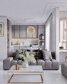 Outstanding small living room designs are readily available on our web pages. Check it out and you wont be sorry you did. Apartment Interior, Home Living Room, Interior Design Living Room, Living Room Decor, Small Living Room Designs, Living Room And Kitchen Together, Interior Livingroom, Dining Room, Interior Design Minimalist