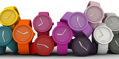 Some simple, cleanly designed watches. Choose the color(s) that suit your outfit the best.