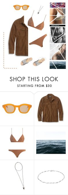 """""""And dinosaur sex led to nothing, and maybe we will lead to nothing"""" by kirime ❤ liked on Polyvore featuring Hakusan, L.L.Bean, Zimmermann, Elise Flashman, Dreams of Norway and Givenchy"""
