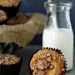 http://www.mybakingaddiction.com/pumpkin-muffins-with-cream-cheese/ - - - PUMPKIN MUFFINS w CREAM CHEESE