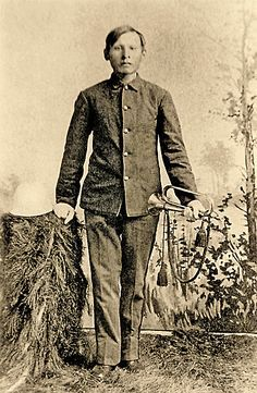 George Little Bear, an Arapaho, served at Fort Reno as Company A's trumpeter, indicative of the increasing late 19th-century efforts to train Indians along the lines of Regular Army soldiers.