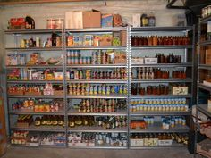 Getting started with food storage? Start with the basics. Learn the basics of stocking your pantry with long-lasting survival food. Survival Blog, Survival Life, Wilderness Survival, Survival Prepping, Survival Skills, Survival Gear, Zombies Survival, Survival Hacks, Outdoor Survival