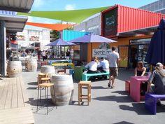 shipping container mall | Shipping container mall in Christchurch
