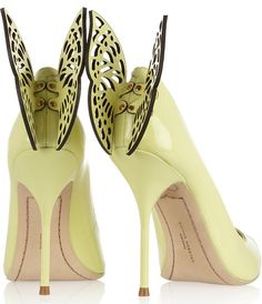 Sophia Webster Aldora butterfly-embellished pumps1 | Spring Summer 2014 ~ Cynthia Reccord