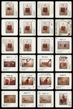 MAGNUM contact sheets - Steve McCurry