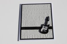 Your place to buy and sell all things handmade Bday Cards, Birthday Cards For Men, Man Birthday, Happy Birthday, Masculine Birthday Cards, Masculine Cards, Musical Cards, Man Card, Owl Punch