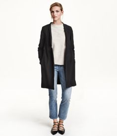 Long jacket - Product Detail | H&M US