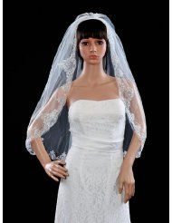 Amazon.com: Ivory - Bridal Veils / Special Occasion Accessories: Clothing & Accessories $9.90