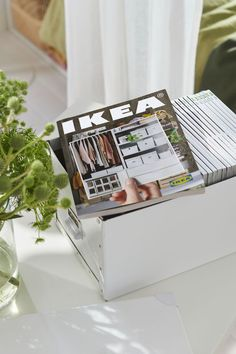 Well, maybe not the biggest secret, but it's a big and delightful surprise for me. An IKEA Spring 2020 catalog. Two IKEA catalogs in a year? Lack Table, Ikea Us, Outdoor Range, Ikea Design, Shopping Catalogues, Ikea Hackers, Good Sleep, Scandinavian Style, Decoration