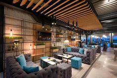 Enterijer restorana Limited u Ovči Modern Office Design, Conference Room, Studio, Table, A4, Furniture, Restaurants, Retail, Home Decor