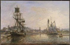Johan Barthold Jongkind | Honfleur | The Met