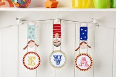 Decorating a little one's room? They'll certainly love this trapeze name bunting which you can make in our May 2015 issue, out now!
