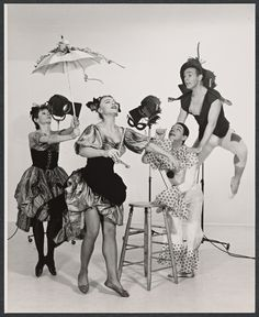 Bettis, Valerie and co. From New York Public Library Digital Collections.