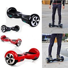Unho Mini Smart Electric Scooters Self Balancing Two Wheels Unicycle Drifting Scooter LED Light Hover Board for Children/adults Outdoor Sports