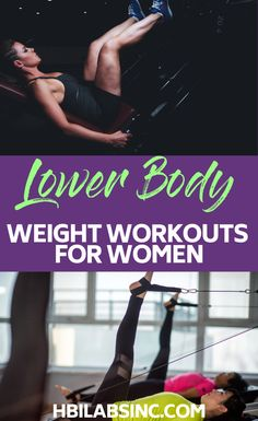 The best lower body workouts with weights for women will help you achieve your fitness goals and burn fat faster! Arm Workouts At Home, Leg Day Workouts, Body Workouts, Weights Workout For Women, Weights For Women, Fitness Tips, Fitness Goals, Workout Videos, Weight Loss Tips