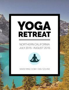 Yoga Retreat on Behance