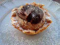 Bocadinhos de Açúcar: Tarteletes de manteiga de amendoim e chocolate