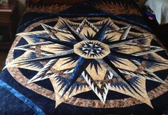 Mariner's Compass, Quiltworx.com, Made by Susan Fisch