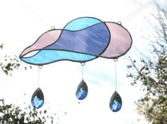 stained glass wind catcher